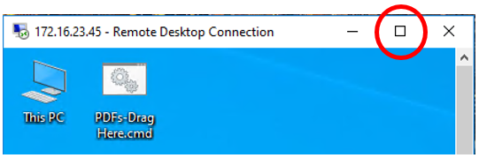 Remote Desktop Connection Windows via Remote Desktop Gateway 12