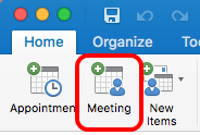 Scheduling Zoom Meetings in Mac Outlook 02