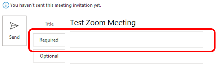 Scheduling Zoom Meetings on Behalf of Another User in Office 365 05