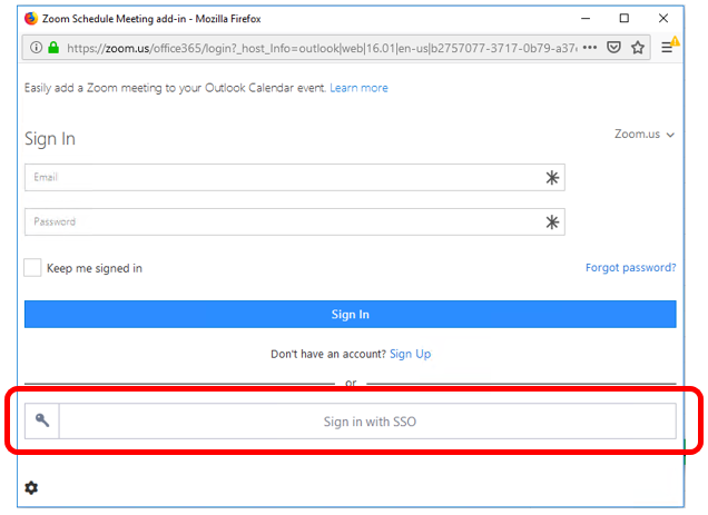 Scheduling Zoom Meetings on Behalf of Another User in Office 365 07