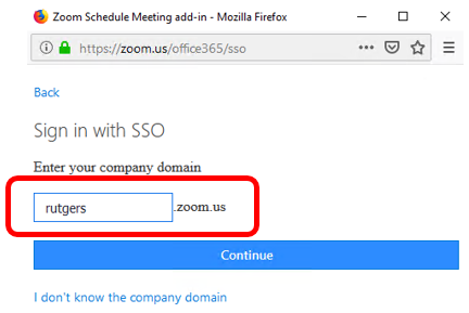 Scheduling Zoom Meetings on Behalf of Another User in Office 365 08