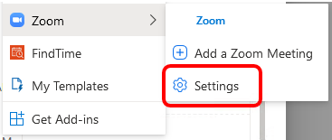 Scheduling Zoom Meetings on Behalf of Another User in Rutgers Connect 12