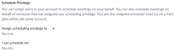 Scheduling Zoom Meetings on the Behalf of Another User 02