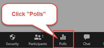 creating a poll in zoom 04
