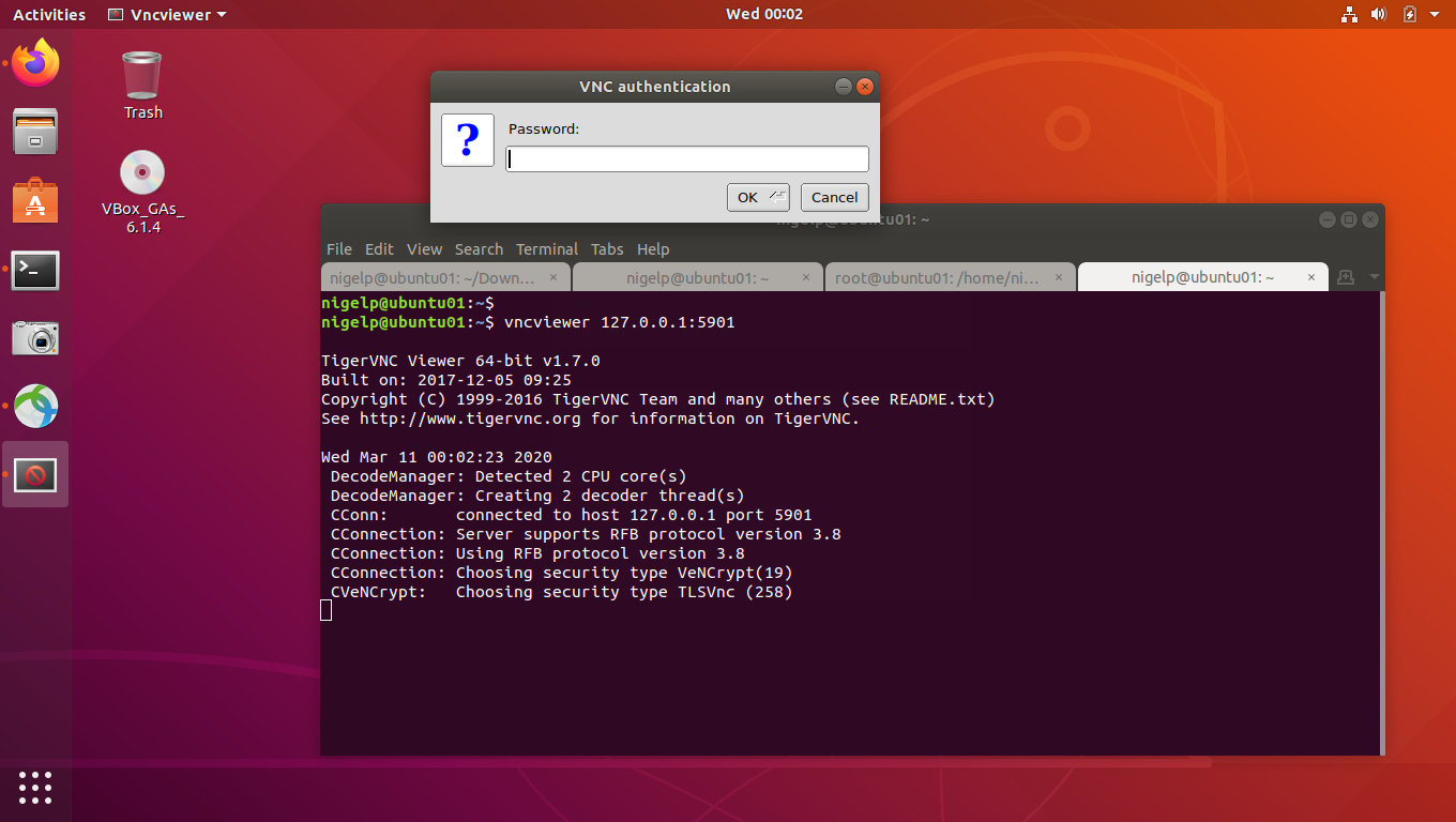 remote desktop to linux from linux 6