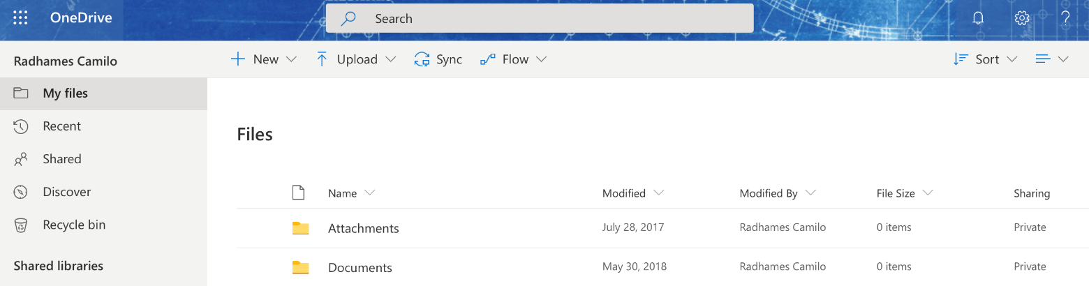 using onedrive windows 2